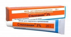 Стелланин, мазь д/наружн. прим. 3% 20 г туба